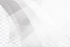 Lustro della geometria del fondo di Grey Abstract e vettore dell'elemento di strato Fotografia Stock