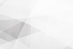 Lustro della geometria del fondo di Grey Abstract e vettore dell'elemento di strato Immagini Stock Libere da Diritti