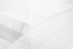 Lustro della geometria del fondo di Grey Abstract e vettore dell'elemento di strato Immagini Stock