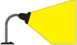 Lustro flessibile della lampada di scrittorio Immagini Stock Libere da Diritti