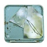 lustro rozbijający Obraz Stock