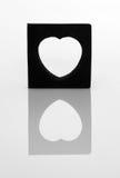 lustro serca Zdjęcie Stock