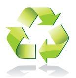 Lustroso recicl o símbolo ilustração royalty free