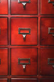 Lustrous Wooden Cabinet Royalty Free Stock Photo