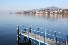 lustrzana jezioro góra Zdjęcie Royalty Free