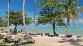 Lustrzana plaża Zdjęcia Stock