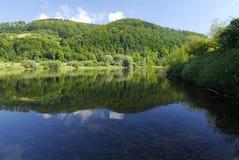 lustrzana rzeki Obrazy Royalty Free