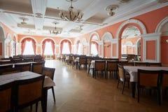 Lustrzana sala w centrala domu kultura Zdjęcie Royalty Free
