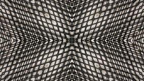 Lustrzanej skutek kopii metalu przemysłowa siatka ilustracji