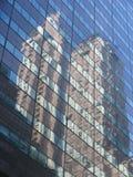lustrzany drapacz chmur Fotografia Stock