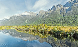 Lustrzany jezioro Fotografia Royalty Free