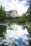 Lustrzany jezioro 02 Zdjęcie Royalty Free
