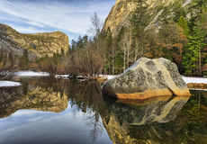 Lustrzany jezioro Obraz Royalty Free