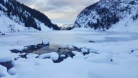 Lustrzany jezioro zdjęcie stock
