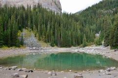 Lustrzany jezioro przy ulem 1 obraz stock
