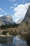 Lustrzany jezioro Yosemite Obraz Stock