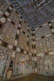 Lustrzany pałac Amer pałac lub Amer fort () jaipur Rajasthan indu Obrazy Stock