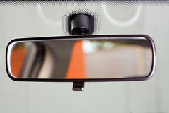 lustrzany rearview Obrazy Stock