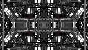Lustrzany skutek metal struktury ilustracja wektor