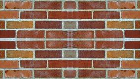 Lustrzany skutek na ściana z cegieł obraz royalty free