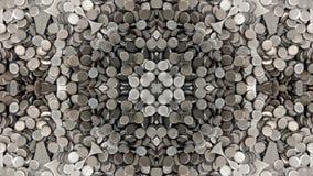 Lustrzany skutek na round metalu częściach ilustracji