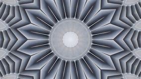 Lustrzany skutek na samolotu strumienia śmigłach ilustracji