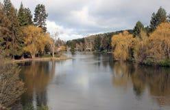 Lustrzany staw, chył, Oregon zdjęcia royalty free