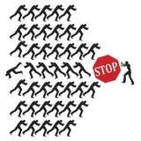 Luta para direitos iguais Imagem de Stock Royalty Free