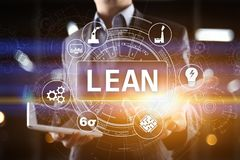 Luta tillverkning Kvalitet och standardisering Affärsprocessförbättring royaltyfri bild