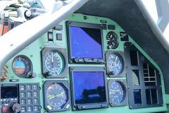 Lutador da cabina do piloto Imagens de Stock