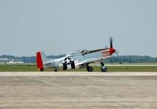 Lutador da segunda guerra mundial do mustang P-51 Foto de Stock Royalty Free