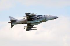 Lutador de jato do Harrier de AV-8B imagens de stock royalty free