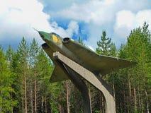 Lutador de jato J 35 Draken Foto de Stock Royalty Free