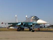 Lutador de jato Su-34 Imagem de Stock