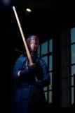 Lutador de Kendo Imagem de Stock