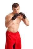 Lutador de MMA imagem de stock