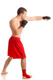Lutador de MMA imagens de stock royalty free