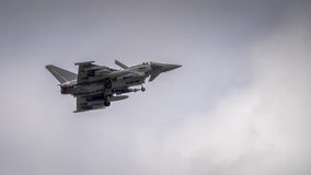 Lutador de RAF Typhoon imagem de stock