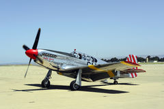 Lutador do mustang P51 Foto de Stock Royalty Free