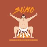 Lutador do Suco, ilustração do vetor Foto de Stock Royalty Free