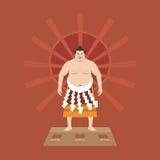 Lutador do Suco, ilustração do vetor Fotografia de Stock
