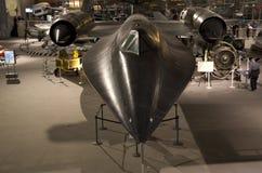 Lutador dos E.U. do melro no museu do voo Seattle fotografia de stock