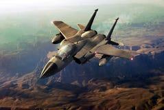 Lutador F15 ilustração royalty free