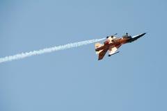 Lutador holandês do falcão da luta de F-16C em Piestany Foto de Stock Royalty Free