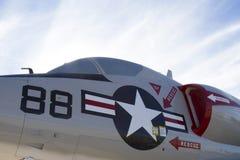 Lutador Jet Cockpit fotografia de stock