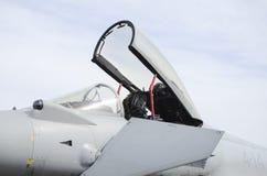 Lutador Jet Cockpit fotos de stock royalty free