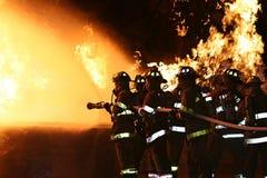 Lutadores de incêndio Imagens de Stock Royalty Free
