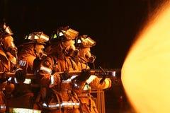 Lutadores de incêndio Imagem de Stock