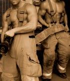 Lutadores de incêndio fotos de stock royalty free
