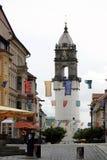 Lutande torn av Bautzen i Tyskland Royaltyfri Foto